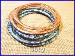 15 Pc Rustic Vintage Mexico. 925 Silver Copper SW Zuni Turquoise Jewelry Lot