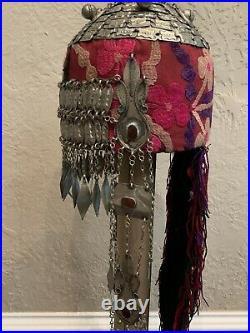 Afghan Turkmen Tribal Wedding Headdress