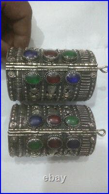 Afghani Handmade Vintage Tribal cuff bracelet, Ethnic bracelet, Tribal bracelet
