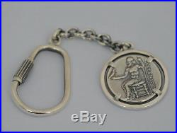 Alexander The Great Hercules Silver Keychain Macedonia King Vergina King