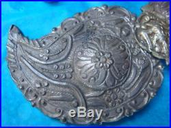 Antique Greek pair of clasps, Zagori, Epirus