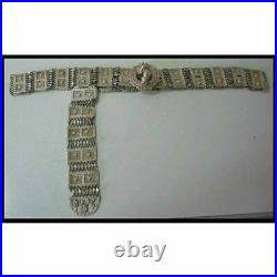 Antique Ottoman Silver Bridal Belt