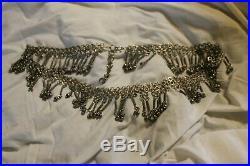 Belt Belly Dancer Belt Vintage, Complete With All The Bells in Tact