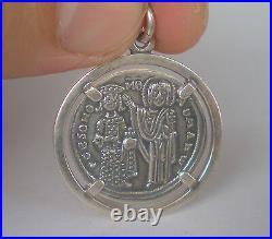 Byzantine Konstantinato Pendant-RomanusIII Argyrus Histamenon-Christ Enthroned