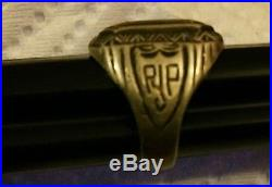 Civilian Conservation Corps CCC Sterling Silver RING 1934 SIZE 6.5