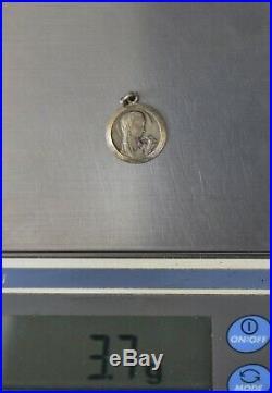 CrazieM Sterling 925 Silver Vintage Southwestern Estate Charm x5304