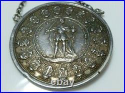 Germany States Hildesheim Bistum Sede Vacante 1 1/2 Taler 1724