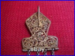 Greek Antique Traditional Jewellry Womens Pin 19th Century