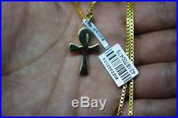 Hallmark Egypt Egipto Ägypten Pharaonic 18 Karat Gold Ankh key of life