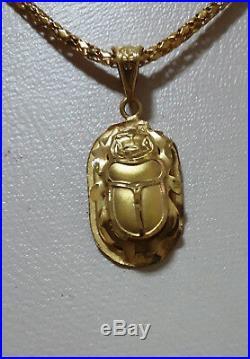 Hallmark Egypt Egipto Ägypten Pharaonic Gold Scarab king tut ankh Amon