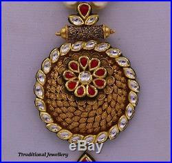 Indian Bollywood Stylish Pendant Antique Design Beautiful Handmade Women Jewelry