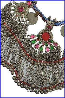 Kuchi Vintage Tribal Collar Piece