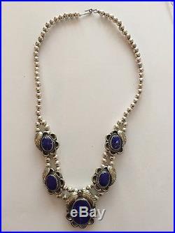 Lapis Lazuli Sterling Silver Jewelry