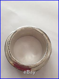 Massive Silver Bangle Bracelet