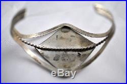 Native American Navajo Indian Jewelry SS Hopi Style Kokopelli Bracelet