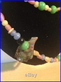 Native American Northwest Trade Coast Beaded Necklace