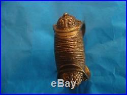 Old Antique Greece Bracelet Silver (malamokapnismeno) Early 19 Century A