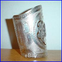 Peruvian Sterling Silver Ethnic Tribal Cuff Bracelet