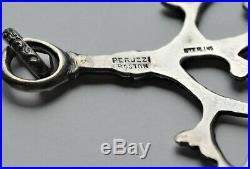 Peruzzi Boston Sterling Silver Cimaruta Pendant