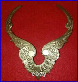 Private Collection Vintage Silver Tribal Choker Collar Necklace Hand Engraved