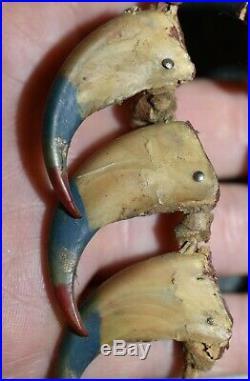 RARE! Antique Indigenous Amazonian Tribal Ceremonial Jungle Medicine Necklace