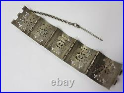Rare old Greek Balkan bracelet 19th century