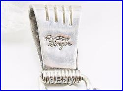 Richard Singer Sterling Silver Navajo Kokopelli Pendant