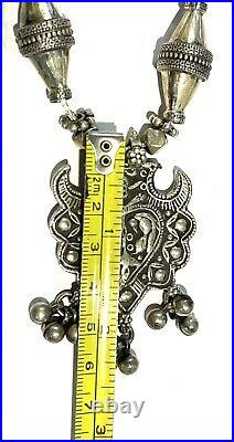Silver Rajasthan Tunisia Tribal Berber Necklace