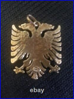 Solid. 585, 14 Carat Gold German Eagle Vintage