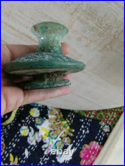 Unusual Ancient Roman Glass Bottle from Afghanistan (#7241)