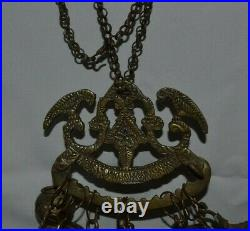 Vin Large Penca De Balangandan Antique Brazilian Slaves Jewelry Has 10 Charms
