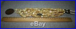 Vintage Chernyakhov Ukrainian Dukach 19th Necklace Mother of Pearl 214,5g Old