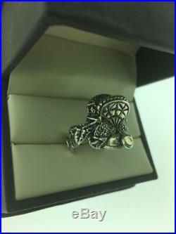 Vintage Mens Sterling Silver 925 Saddle Ring Sz 9