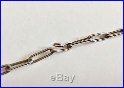 Vintage Native American Hopi Necklace, Pendant/Pin Chain Hallmark, 64g