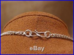 Vintage Sterling Silver Lapis Necklace