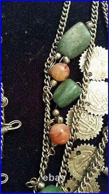a5 18 inch Handmade natural  unknown strand necklace From pakistan