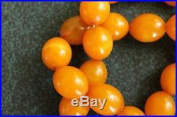 Vintage bakelite beads for amber from Germany (1930)
