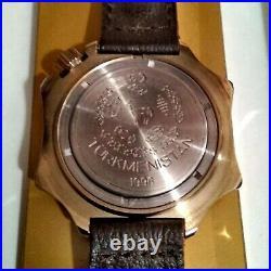 Vostok Komandirskie Mechanical WRIST Watch 17 JEWELS + Doc + Box Rare NOT Used