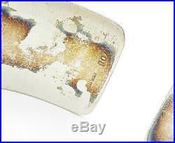 YDL TRINIDAD 925 Silver Vintage Butterfly Floral Vine Cuff Bracelet B4964